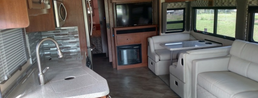 Today's Florida Motorhome Rentals Aren't Your Grandfather's Camper